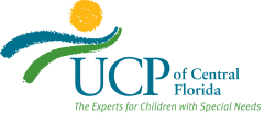 Logo for UCP of Central Florida. The experts for children with special needs.