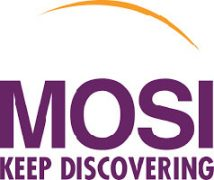 Logo for MOSI. Keep Discovering.