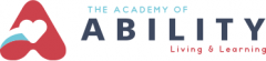 Logo for the Academy of Ability. Living and Learning.