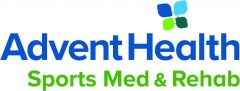 Logo for AdventHealth Sports Med and Rehab.