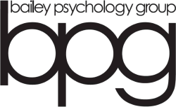Logo for Bailey Psychology Group.