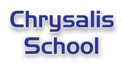 Chrysalis School logo.