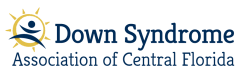 Down Syndrome Association of Central Florida logo.