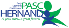 Logo for Early Learning Coalition of Pasco Hernando. A good start... a great future!