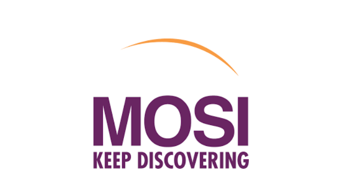 Logo for Museum of Science and Industry. Keep discovering.
