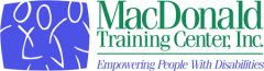 MacDonald Training Center, Inc. logo. Empowering People with Disabilities.