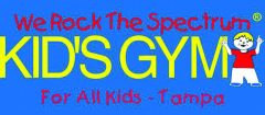 Logo for We Rock the Spectrum Kid's Gym for all kids - Tampa.