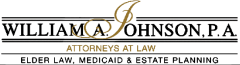 William A. Johnson, P.A. Attorneys At Law logo.