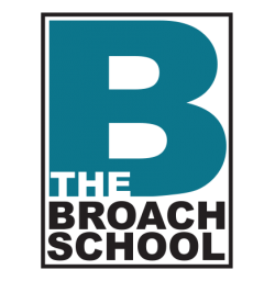 Logo for The Broach School.