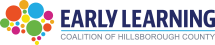 Early Learning Coalition of Hillsborough County logo.