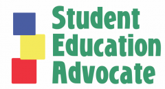 Student Education Advocate logo.