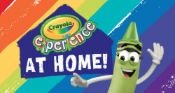 Crayola Experience at home flyer