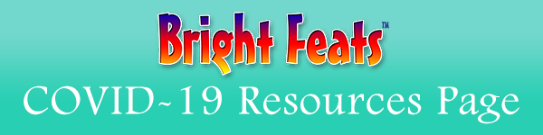 Event Banner Bright Feats COVID Resources