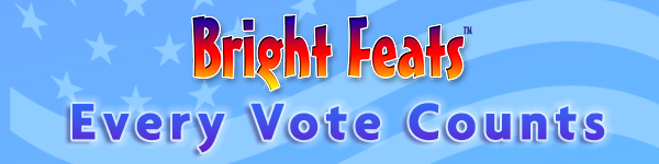 Event Banner Bright Feats VOTE