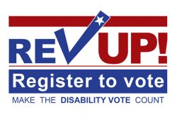 Register to vote. make the disability vote count