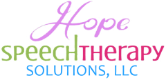 Logo for Hope Speech Therapy Solutions, LLC.