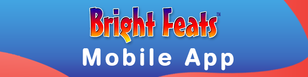 Banner Bright Feats Mobile App Page