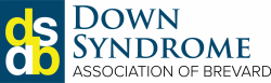 Logo for Down Syndrome Association of Brevard.