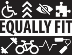 Logo for Equally Fit.