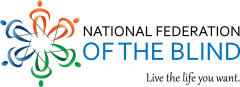 Logo for National Federation of the Blind.