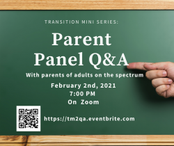 Parent Panel Q&A, 2-2-2021, 7PM on Zoom