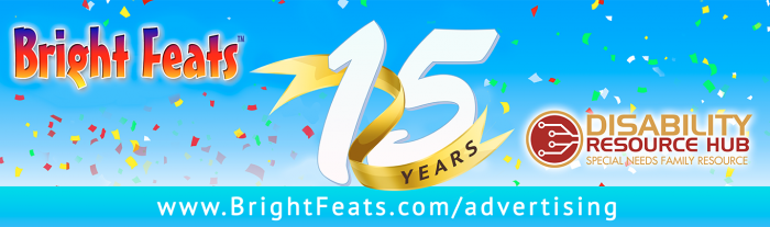 Bright Feats 15 Year Banner