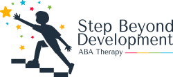 Logo for ABA Therapy, Step Beyond Development