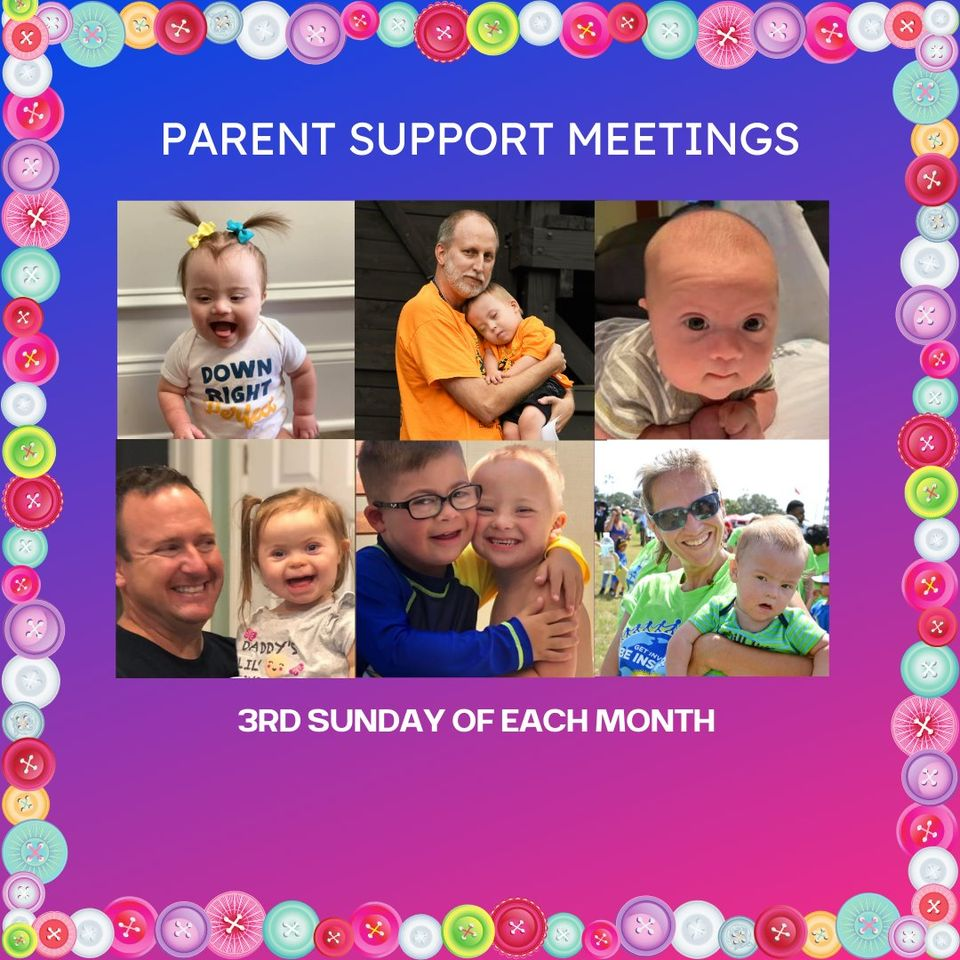 Ad for Parent support meetings.